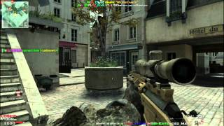 Mw3 multiplayer Sniping Quick Scope On PC using Mouse and Keyboard