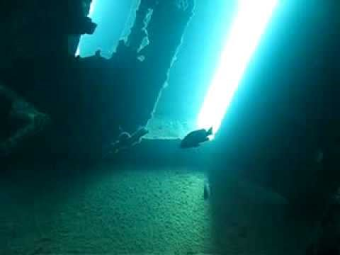 Video from a shipwreck in Rodos, Greece
