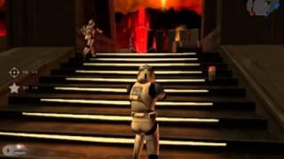 Star Wars Battlefront 2 PC Mustafar Gameplay