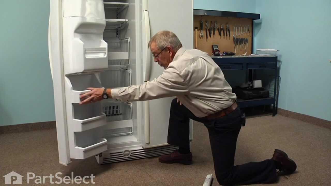Refrigerator Repair Replacing The Water Filter Whirlpool