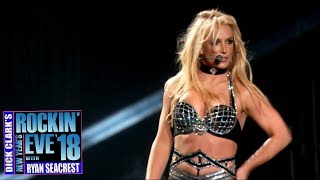Britney Spears - Work Bitch (Dick Clark's New Year's Rockin Eve 2018)