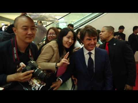 Jack Reacher: Never Go Back: Tom Cruise Shanghai China Premiere | ScreenSlam