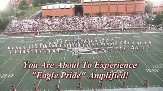 NCCU Marching Sound Machine Band Performance - 09-05-2015