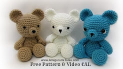 Crochet soft toys for beginners