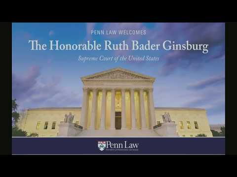 Symposium Honoring U.S. Supreme Court Associate Justice Ruth Bader Ginsburg