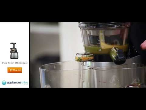 How to make healthy juice using Vitality4life's Hurom 500, T
