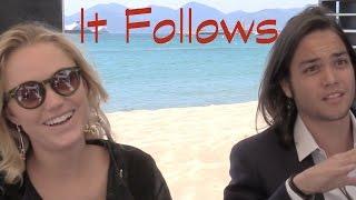 DP/30 @ Cannes: It Follows Maika Monroe & Daniel Zovatto