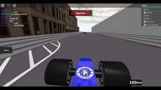 Roblox. Racing In Monaco. F1 2015