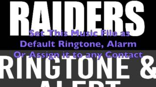 Oakland Raiders Ringtone and Alert