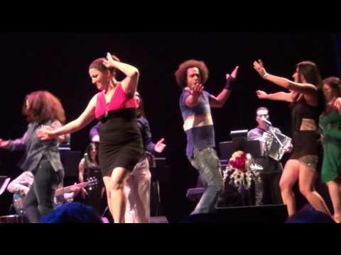 شادی مردم در کنسرت رحیم شهریاری لس آنجلس