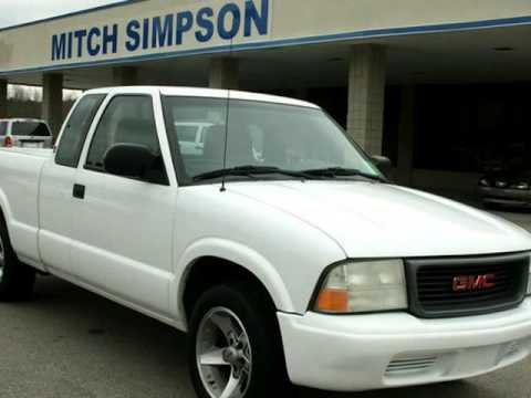 2002 gmc sonoma extended cab v6 auto 1 owner cleveland for Mitch simpson motors cleveland ga