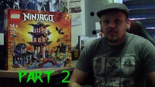 LEGO Ninjago - 70751 - Temple of Airjitzu - Part 2 - Unboxing + Review + Build deutsch