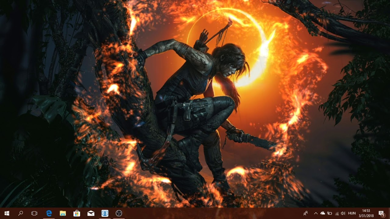 Shadow Of The Tomb Raider Live Wallpaper Pc Youtube