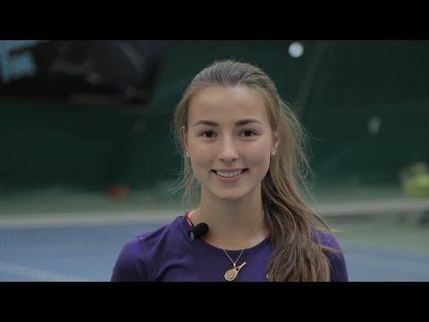 Sofya Gulnova - College Tennis Recruiting Video - Fall 2016