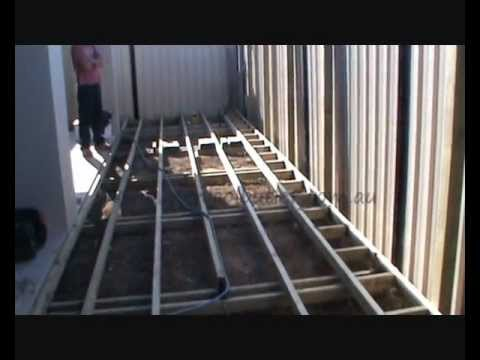 Diy Deck Building Construction Details : How to build a deck learn from the pros youtube