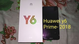 Huawei y6 prime  2018, 18:9 full view display. Mid Budget Smartphone