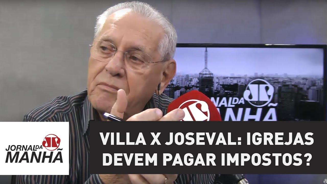 """Resultado de imagem para historiador Marco Antonio Villa defendendo a cobrança de impostos por considerar a fé """"um negócio""""."""