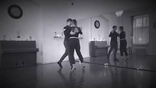 Jakub Grzybek & Patrycja Cisowska- Tango ONline Lesson 8