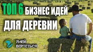 ТОП 6 Бизнес идеи для села и деревни  Как заработать в деревне