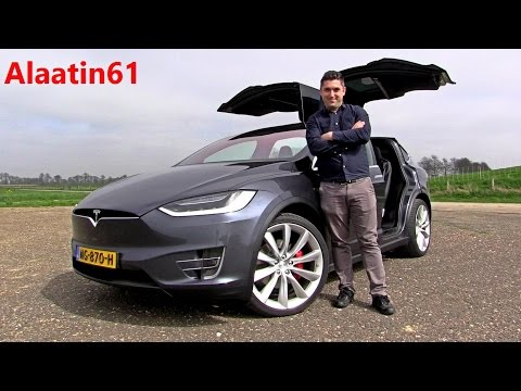 1.500.000 TL LIK Dünyanın En Hızlı SUV'u Tesla Model X P100D 2017
