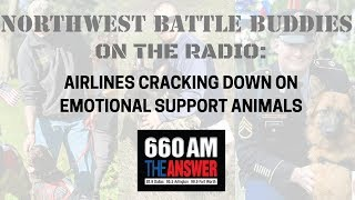Airlines Cracking Down on Emotional Support Animals || Shannon Walker Discusses LIVE (3/4/18)