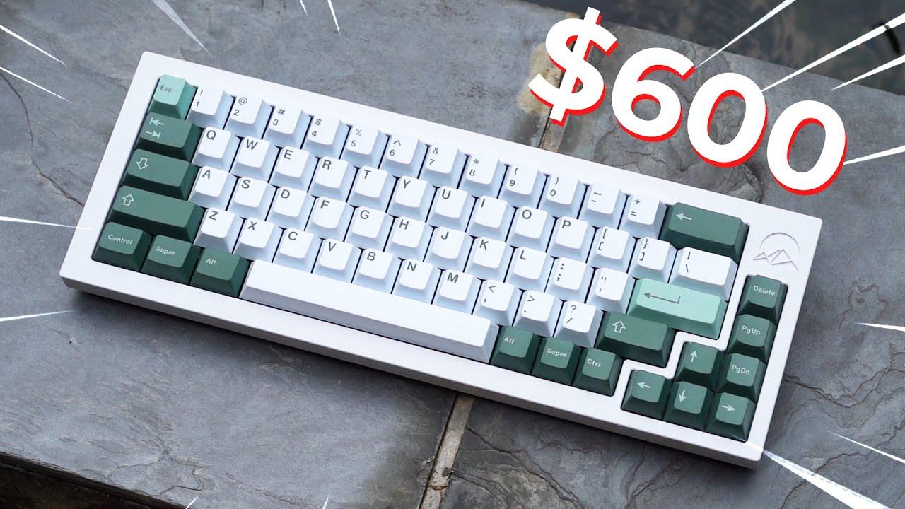 The Making of my $600 Custom Mechanical Keyboard!
