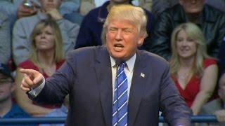 Protesters interrupt Trump rally