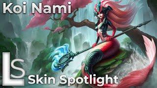 Koi Nami - Skin Spotlight 2020 - League of Legends - Patch 10.22.1