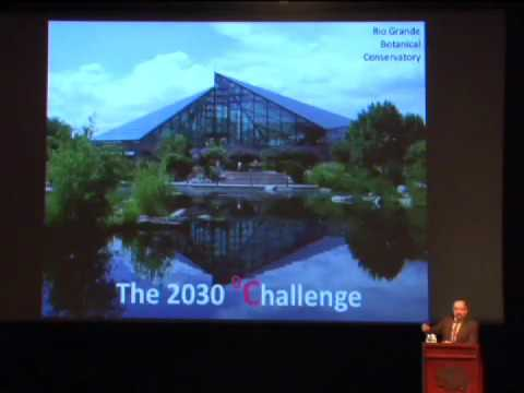 Stegner Symposium 2010: The Path to Sustainability in Buildings