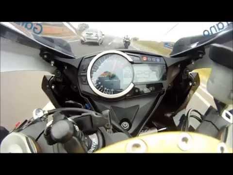 moto acelera a 300km na bandeirantes veja o que acontece