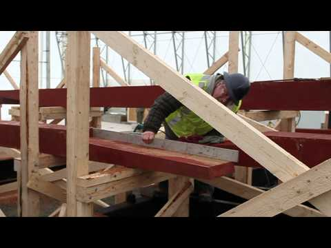 Bluenose II - Laying The Keel