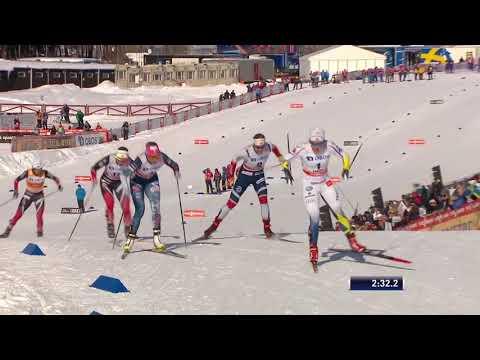 svtplay Skidor; Världscupen   Sprint d,h