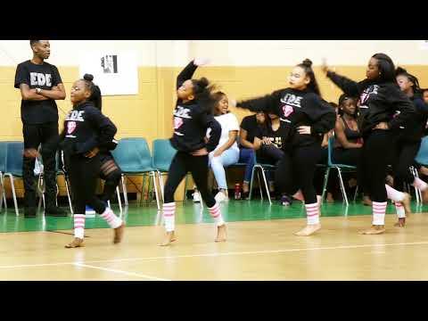 Celebrating Black History Month WalkThrough ( EDE Diamonds Divas ) 2018 Augusta , Ga