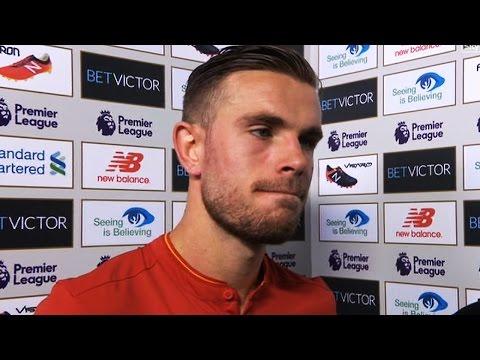 Liverpool 0:0 Manchester United - Jordan Henderson post-match reaction