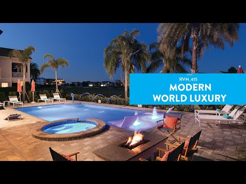 Modern World Luxury   9 Bed Villa, Secret Play Room, Game Room, Movie Room, & Water Cannon