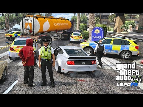 LSPDFR #589 BRITISH PATROL!! (GTA 5 REAL LIFE POLICE PC MOD)