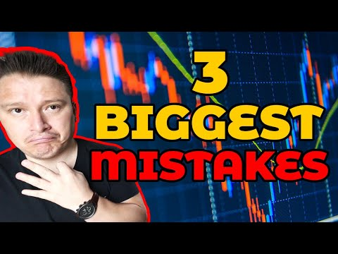 ⛔😢3 BIGGEST Mistakes as a Binary Options Trader😱📉