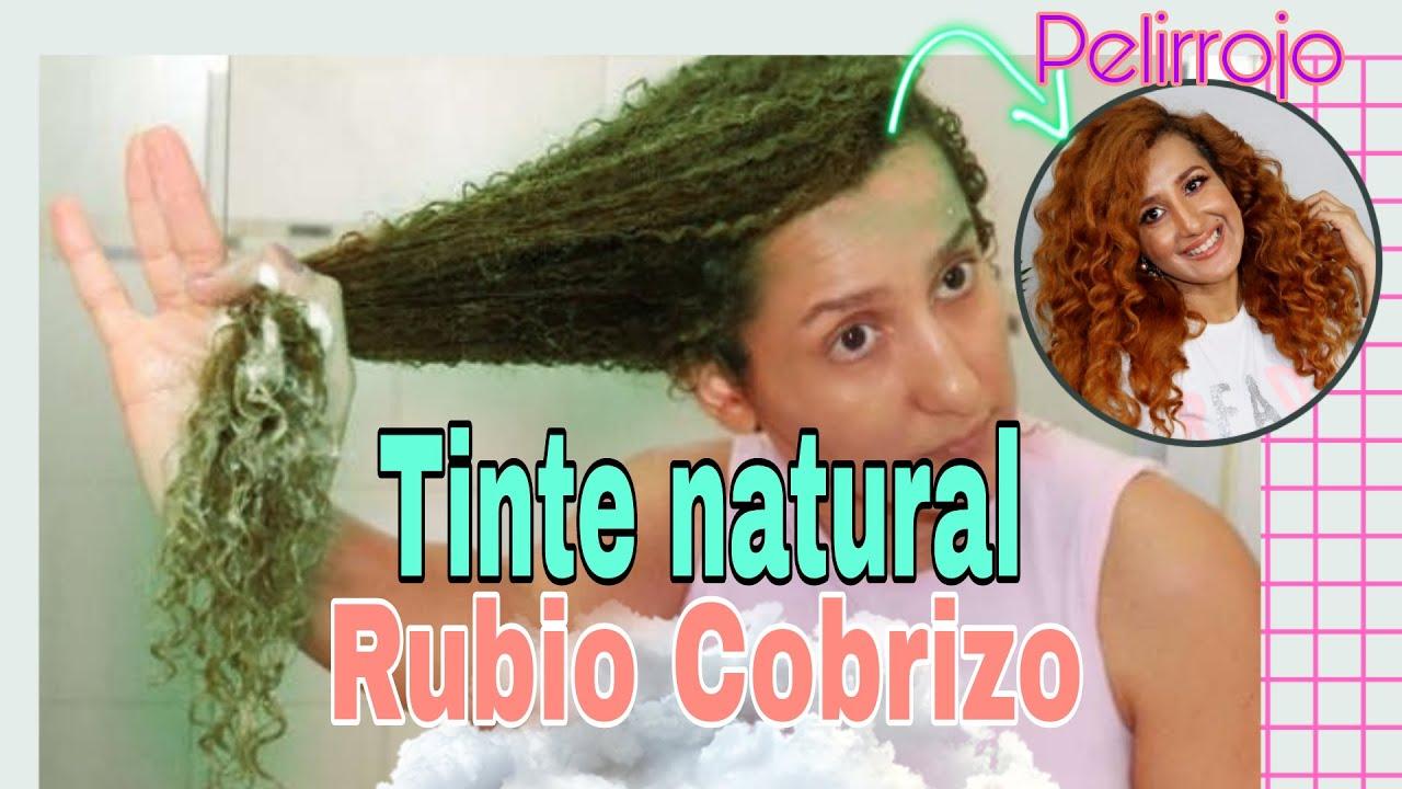 🌿TINTE NATURAL PARA EL CABELLO RUBIO COBRIZO 🌿EL MEJOR PELIRROJO CON HENNA  PARA EL PELO.