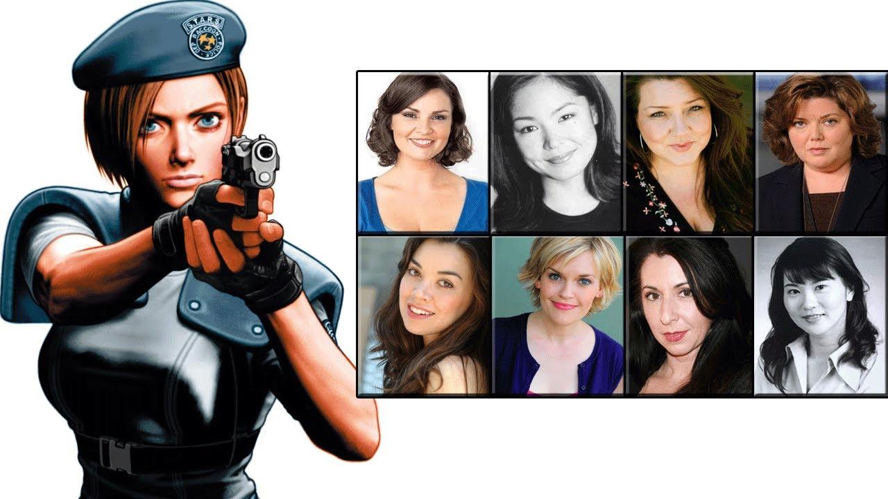Characters Voice Comparison Jill Valentine
