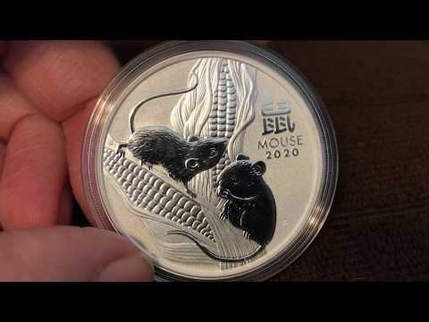 2020 1 Oz Silver Lunar Mouse (Series III) Review