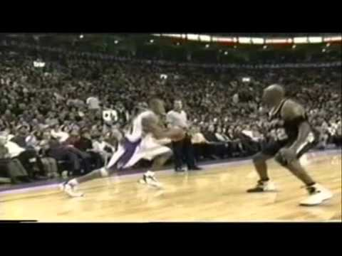 Vince Carter 39pts   Tracy McGrady Highlight vs Spurs 99 00 NBA  Vintage VC  and TMac 73f79afb6