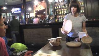 メリデのタコ料理  サンティアゴ巡礼2010