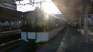 近鉄5820系DH24編成入庫列車