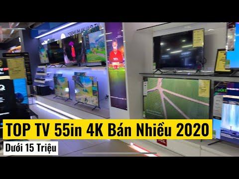 TOP Tivi 55inch 4K dưới 15 triệu bán nhiều năm 2020