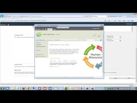 Change Site Theme in SharePoint 2010