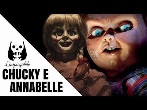 La vera storia di Annabelle e Chucky