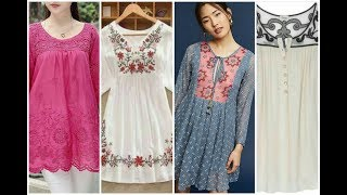latest top  and shirts designs    beauty fashion