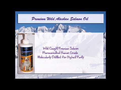 Premium Wild Alaskan Salmon Oil Video