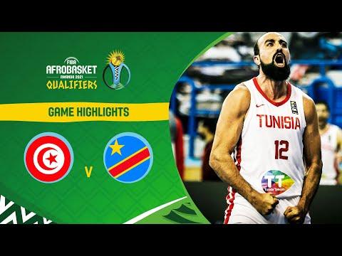 Tunisia - Congo DR | Highlights - FIBA AfroBasket 2021 Qualifiers