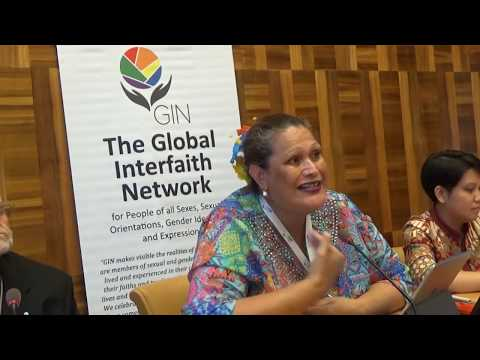Religious communities affirming LGBTIQ people around the world (HRC 41 side event)